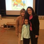 Local author of Maezie's Pumpkin Patch, Lynn Snowden