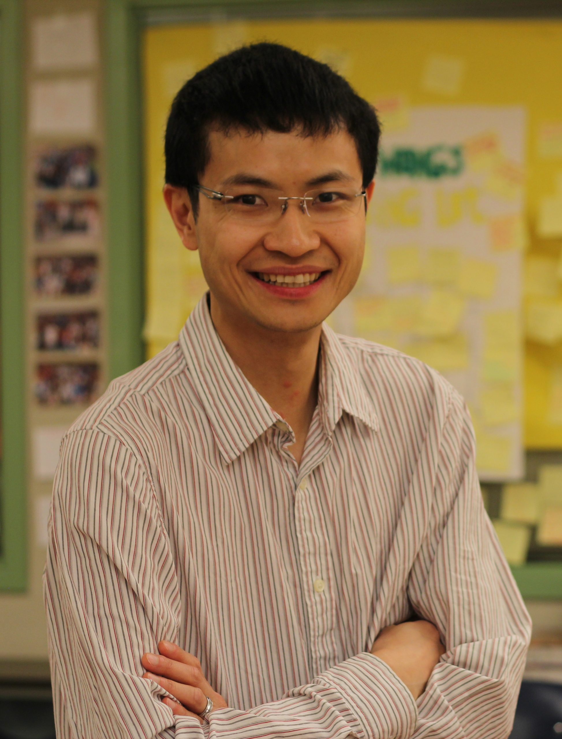 William Wong supports SEF for the support he received as a teacher