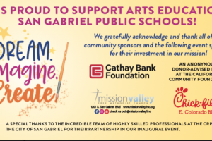 The San Gabriel Educational Foundation is proud to support arts education in San Gabriel public schools